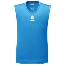接触冷感 ひんやり 生地 冷感 ノースリーブ インナー メンズ トップス ヒュンメル つめたインナーシャツ HAP5026