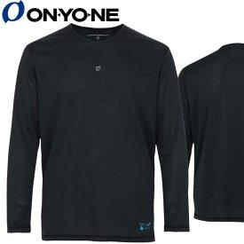 接触冷感 ひんやり 生地 冷感 長袖 インナー メンズ トップス オンヨネ OKJ92600-009