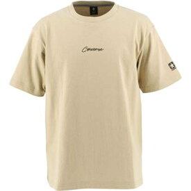 コンバース Tシャツ 半袖 メンズ 丸首 クルーネック CA201376-3200