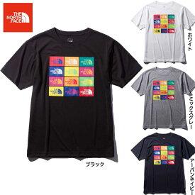 ノースフェイス Tシャツ メンズ 半袖 カラード ハーフドーム ロゴス ティー NT32049