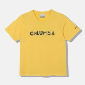 コロンビア ジュニア Tシャツ ケネットハイクユースショートスリーブTシャツ PY2034
