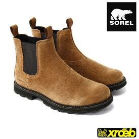【SALE】ソレル マドソンチェルシー WP メンズ ウインターブーツ 防寒ブーツ スノーブーツ NM3475
