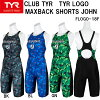SLOGO-18F for the ★ tear ★ Lady's swimming race swimsuit ★ max background short John ★ exercise for 11/2 arrival ◎★★ 18 years in the fall and winter