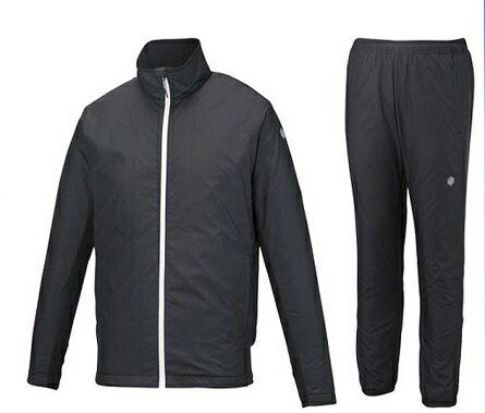 【10%OFFクーポン発券中】アシックス メンズ ウィンドジャケット&パンツ上下セット 裏起毛 中綿 XAW539 XAW639 90