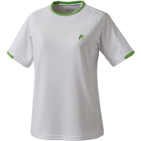 97f9c477b7dfb プリンス テニス バドミントン ウェア ジュニアゲームシャツ WJ191 146 WHT