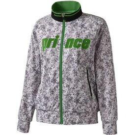 【全品クーポン利用で10%OFF】プリンス テニス バドミントン ウェア ジュニアトラックジャケット WJ656 155 SLA