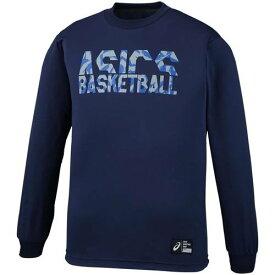 アシックス メンズ バスケットボール ウェア 長袖 プリントロングスリーブトツプ 2063A034 400