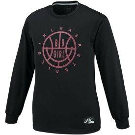 アシックス レディース バスケットボール プリントLSトップ 2062A010 002