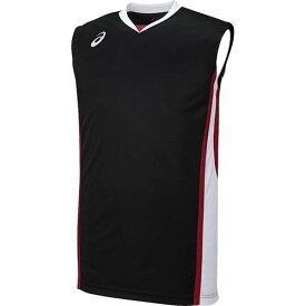 アシックス メンズ バスケットボール ゲームシャツ XB1361 9001