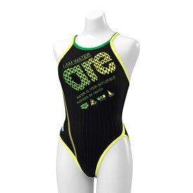◎◇20年春夏 アリーナ レディース競泳水着 練習用 SAR-0102W BKYL