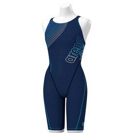 ◎◇20年春夏 アリーナ レディース競泳水着 練習用 SAR-0129W NVBU