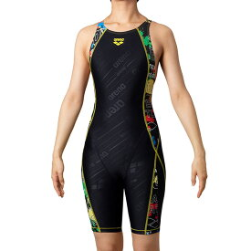 ◎◇20年春夏 アリーナ レディース競泳水着 練習用 SAR-0155W BKMT