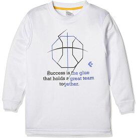コンバース バスケットボール ウェア ジュニア ロングスリーブ シャツ CB482305L 1125