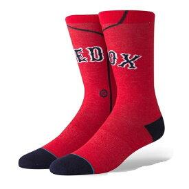 【P5倍+お得クーポン】STANCE スタンス 野球メジャーリーグ コラボ メンズ ソックス M545C18RSA RED