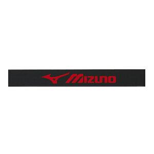 ミズノ MIZUNO テニス ラケット エッジガード 1セット入り ブラック × レッド 63JYA860 62