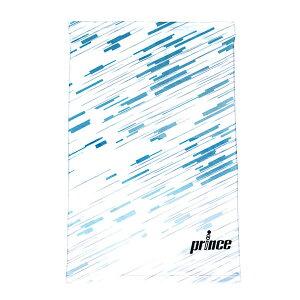 【P3倍+お得クーポン】プリンス テニス ICE DRY フェイスカバー PO665 218 WHT/BLU APO665-218