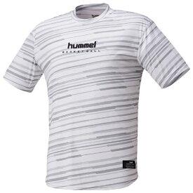 【P10倍+お得クーポン】ヒュンメル メンズ バスケットボール ウェア 昇華半袖Tシャツ HAPB4031 10