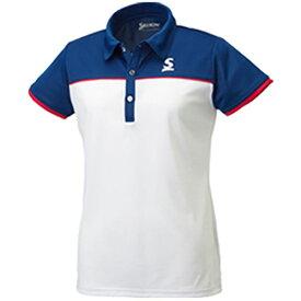 【P5倍+お得クーポン】スリクソン SRIXON レディース テニス ポロシャツ SDP-1767W WH 003