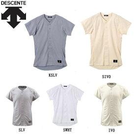 学生試合用 シャツ 半袖 デサント 野球 STD80TA