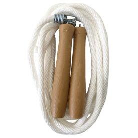 なわとび とびなわ ジャンプロープ 綿ロープ 932 大人用 日本製 全長3m 一般 学校 体育 一般用 300cm 金剛打 回転式