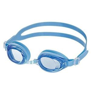 ゴーグル スイムゴーグル スイミングゴーグル 抗菌 競泳 水泳 曇り止め YG573 ブルー 子供用 ジュニア キッズ6〜12歳 水泳 スイム プール 水着 小学生