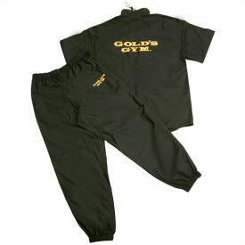 ゴールドジム サウナスーツ (イエローステッチ) G5710 トレーニングギア 20SS GOLD'S GYM