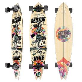 セクターナイン サーフ スケートボード メンズ/レディース BAMBOO SERIES 39.5 OHANA OFFSHORE B20SD05 21SP