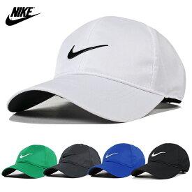 ナイキ ロー キャップ 帽子 メンズ レディース ユニセックス NIKE CAP ナイロンキャップ スウォッシュ ロゴ 黒 白 ゴルフ アメリカモデル テニス アウトドア スポーツ ストラップバック ファッション マジックテープ 小物 速乾