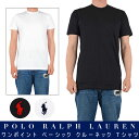 ポロラルフローレン プレーン Tシャツ ホワイト ブラック ネイビー ストリート ファッション シンプル ワンポイント