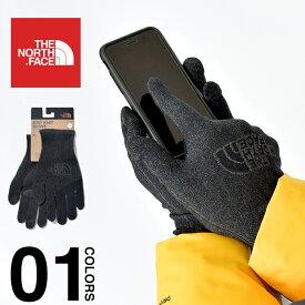 ノースフェイス 手袋 メンズ スマホ対応 THE NORTH FACE ETIP KNIT GLOVE イーチップ グローブ スマートフォン対応 USAモデル タッチスクリーン対応 レディース 軽量 防寒 プレゼント NF0A3M5L