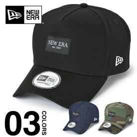 ニューエラ キャップ NEW ERA CAP 9FORTY A-Frame メンズ レディース スナップバック ブラックパッチ ブラック インディゴ デニム ウッドランドカモ 帽子 ロゴ ベースボールキャップ 迷彩 カモフラ キッズ ダンス 衣装 12653759 12653758 12653757