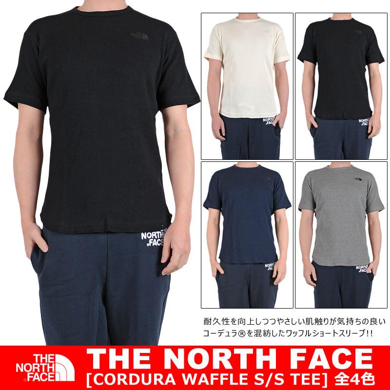 THE NORTHFACE ワッフル素材 Tシャツ 半袖 [ノースフェイス] ワンポイント THERMAL TEE Tシャツ ショートスリーブ S/S CORDURA WAFFLE TEE NT11732