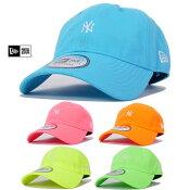 ニューエラローキャップメンズレディース帽子NEWERAネオンカラーミニロゴニューヨークヤンキース-1