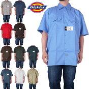 ディッキーズDICKIESワークシャツボタンダウンメンズレディースファッション-1