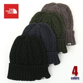 ノースフェイス ニット帽 メンズ THE NORTH FACE ケーブル ニットキャップ 帽子 ビーニー ユニセックス ロゴ アウトドア ストリート ファッション 黒 紺 白 グレー ネイビー ブラック ホワイト NN41520