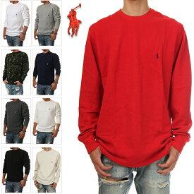 POLO RALPH LAUREN ポロ ラルフローレン サーマル Tシャツ ロンT クルーネック THERMALTEE CREWNECK ロングスリーブ ワンポイント 全6色 P551