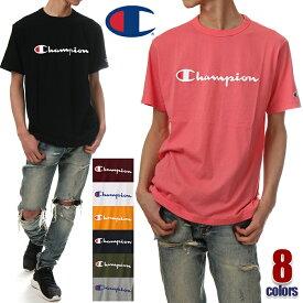 チャンピオン Tシャツ メンズ レディース CHAMPION ロゴ 半袖 Tシャツ 大きいサイズ ビッグサイズ ロゴ 無地 日本規格 ビッグロゴ ストリート系 アメカジ ブランド ファッション 白 黒 青 紺 緑 グレー イエロー ピンク S M L XL XXL C3-P302