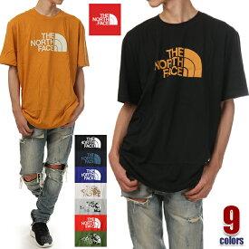 ノースフェイス Tシャツ 半袖 メンズ レディース 大きいサイズ THE NORTH FACE ハーフドーム ロゴ Tシャツ ビッグTシャツ ビッグシルエット アウトドア USA ブランド ファッション S M L XL 2XL 白 黒 赤 イエロー 青 緑 グレー