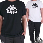 KAPPA半袖Tシャツメンズレディースロゴプリントカッパ大きいサイズ-1