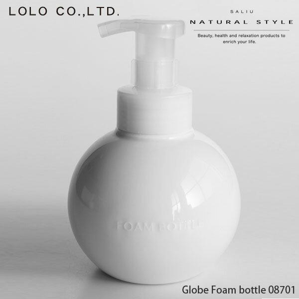 あす楽 LOLO ロロ グローブフォームボトル 08701 450ml 泡ポンプ 陶器 日本製 泡ボトル ムースボトル ディスペンサー 泡タイプ液体石鹸 専用ボトル