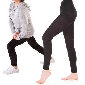 【メール便OK】 ハートハンド 足腰らくらく健康スパッツ ウォーキング ランニング テーピング 着圧 ひざ 太もも 足首 歩行サポート ボディスーツ ガードル