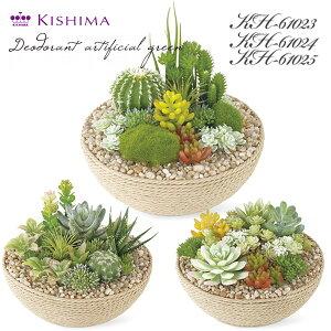 KISHIMA キシマ エクリア 消臭アーティフィシャルグリーン KH-61023 24 25 多肉植物 寄せ植え CT触媒加工