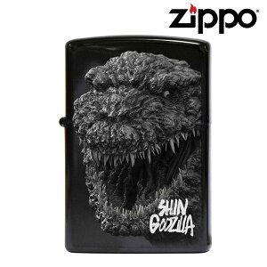 【メール便OK P】 Zippo シン・ゴジラ マイクロレーザー ブラックチタンコーティング シリアルナンバー入り ジッポー オイルライター SHIN GODZILLA