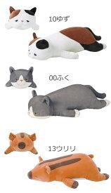 りぶはあと プレミアム ねむねむアニマルズ 抱きまくら Mサイズ 28976/38982/48769 クマ ブタ アザラシ パンダ ネコ イヌ クジラ ウリ坊 抱き枕 ぬいぐるみ
