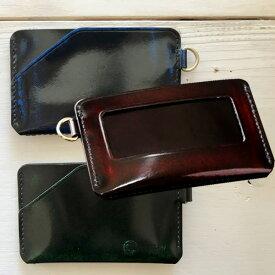 PARLEY パーリィー クラシック スマートパスケース PC-16 定期入れ ICカード キップレザー パーリィークラシック エイジング レザー 牛革 メンズ 日本製