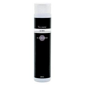 Sin エッセンス たっぷり使えるオールインワン メンズ美容液 200ml 日本製 乾燥 小じわ 肌荒れ くすみ ヒアルロン酸 プラセンタエキス配合