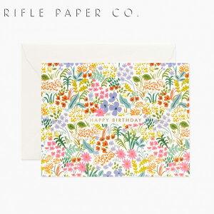 ライフルペーパー グリーティングカード バースデー プレーリー・バースデー RIFLE PAPER CO. Prairie Birthdayブランド デザイナーズ カード USA アメリカ 海外 GCB052ギフト プレゼント 誕生日 お祝い
