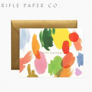 ライフルペーパー グリーティングカード バースデー カラーパレット・バースデー RIFLE PAPER CO. Color Palette Birthdayブランド デザイナーズ カード USA アメリカ 海外 GCB057ギフト プレゼント 誕生
