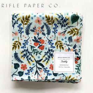 ライフルペーパー ハンカチ ワイルドウッド・ミント RIFLE PAPER CO. Wildwood mintブランド デザイナーズ ハンカチクロス USA アメリカ 海外 RHC069ギフト プレゼント 結婚祝い