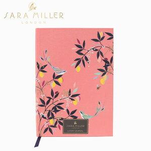 SARA MILLER サラミラー A5 Fabric Notebook ノートブックノート 鳥 ハードカバー レディース ピンク ブランド デザイナーズ ステーショナリー UK ロンドン SAM2112ギフト プレゼント 父の日